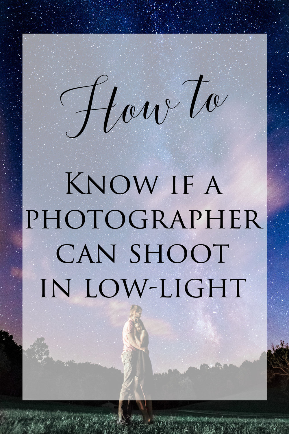 How to Know If Your Photographer Can Shoot in Low-Light - If any part of your wedding day is going to be indoors or in low-light for any reason, it's very important to hire, know, and feel confident that your wedding photographer can photograph in those darker conditions...read more