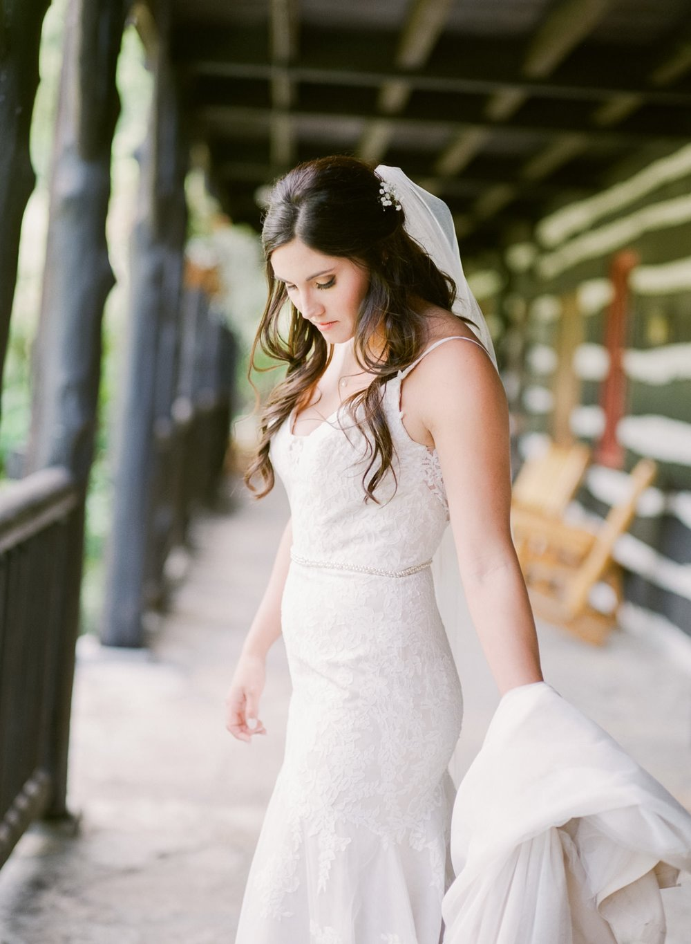 Image of bride taken with the Hasselblad H2 and HC 100mm f/2.2 lens on Fuji 400H