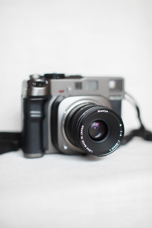 Image of Mamiya 7 Film Camera with 80mm lens