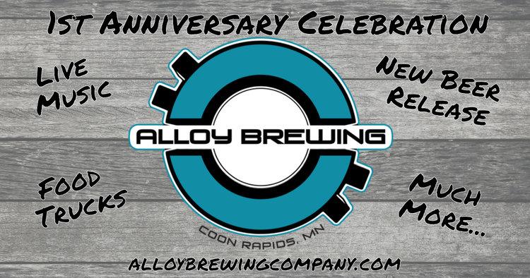 Alloy 1st anniversary celebration u2014 alloy brewing company