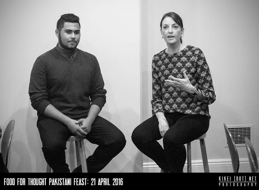 Ali Raza Tonkin in conversation with Meri Fatin ::  Image courtesy of Marziya Mohammedali http://kikei.net
