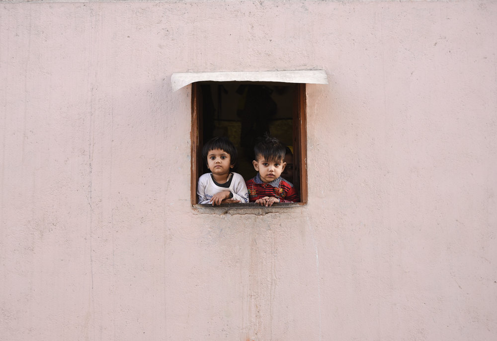 Children of Jaipur  by Catherine Matthys