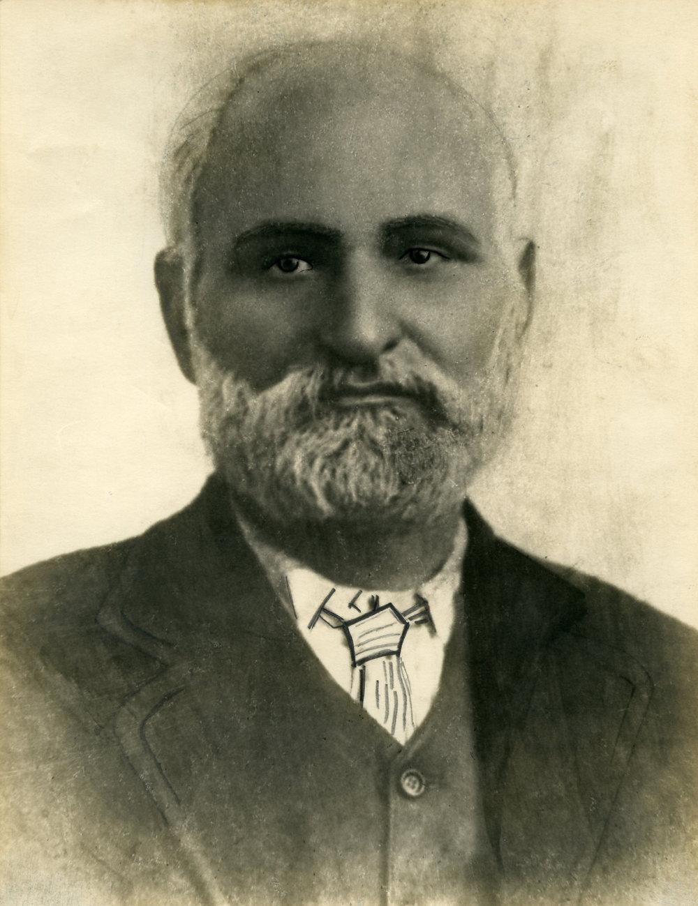 Khawaja Mohammad Bux: Tammy's great-grandfather, circa 1920's