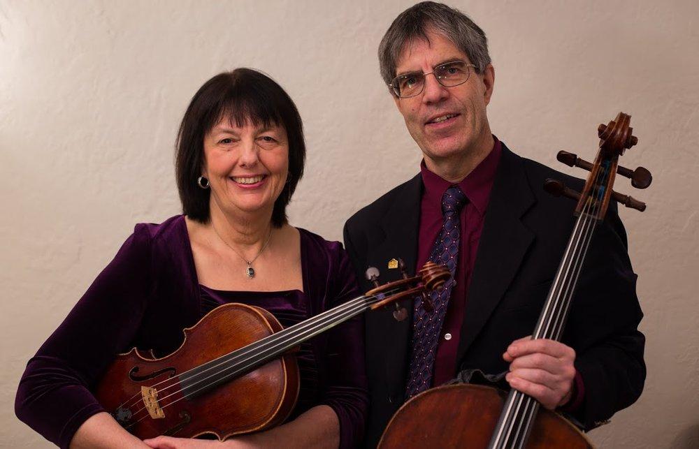Suzanne and Gunnar Sahlin