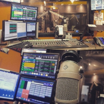 The heart of the building was where 590 VOCM was broadcast from. This was where all of your day's news was heard and where many of the live talk programs were produced.