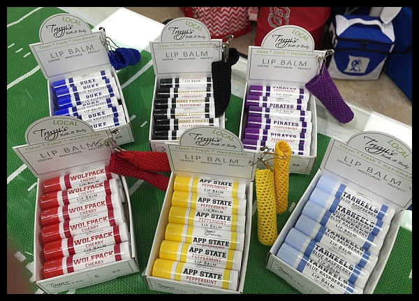 The Collegiate Shop - 244 N Main StreetKernersville, NC 27284*lip balms only