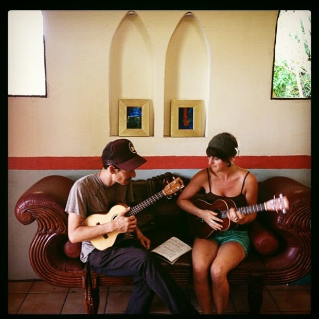"Happy birthday to @pierorestastudios - we were lucky enough to play you a song in your beautiful/magical Villa Tamarinda once upon a time. Wonderful memories my friend. Viva! ""Art is a tool for humanity to nourish itself, to know that which is highest belongs to everyone..."" #fbf #villatamarinda #pieroresta #inspiring #viva #artist #painter #music"