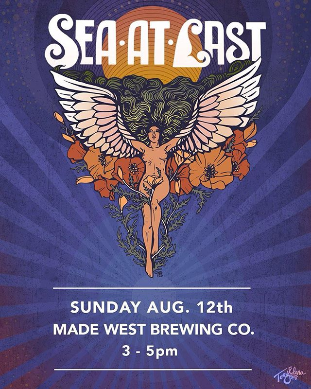 Hey Ventura! Come kick it Sunday Styleee with us @madewestbeer today? Tunes and brews and that sweet California sunshine! 🌞👌#venturamusic #seaatlast #madewestbeer #rocknroll #sundayvibes #afternoonset #music #yay