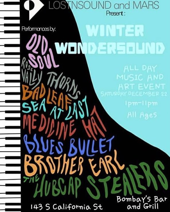 Playing in Ventura this Saturday! Come one come all. We play at 3pm! #seaatlast #winterwondersound #lostandsound #rocknroll #duoband #cinematicrock #livemusic #venturalivemusic