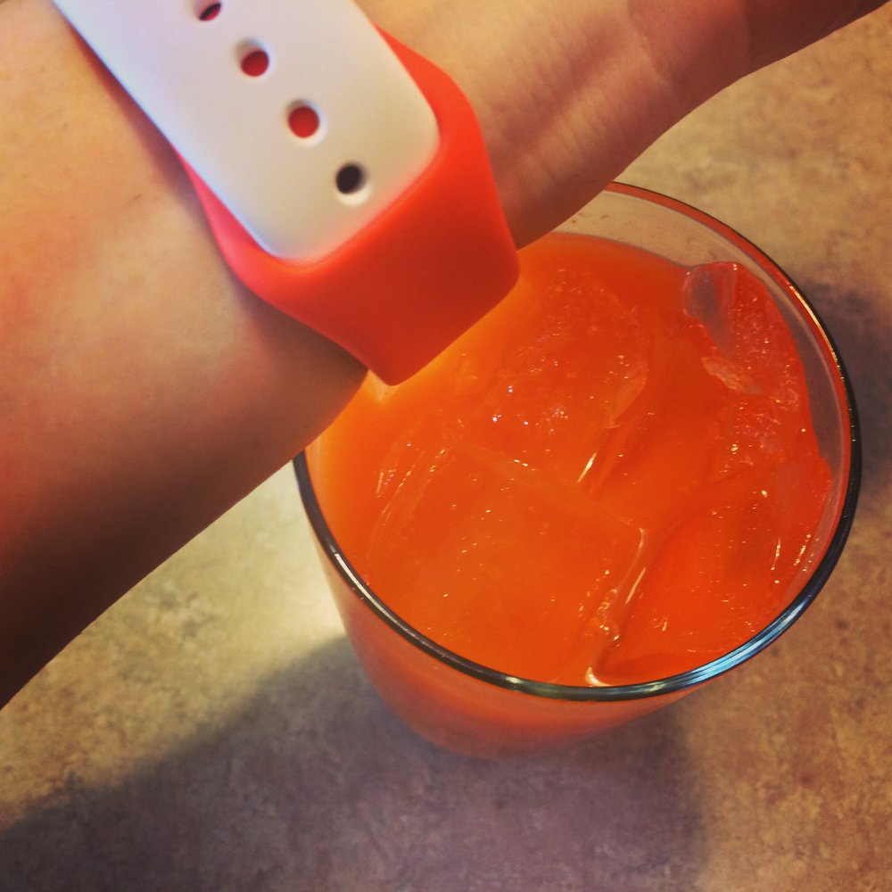 No more trying to match Watch bands to beverages? Say it isn't so!