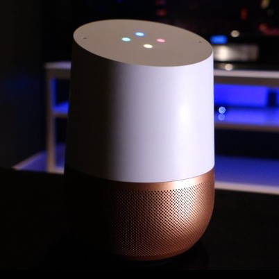"The ""standard-sized"" Google Home"