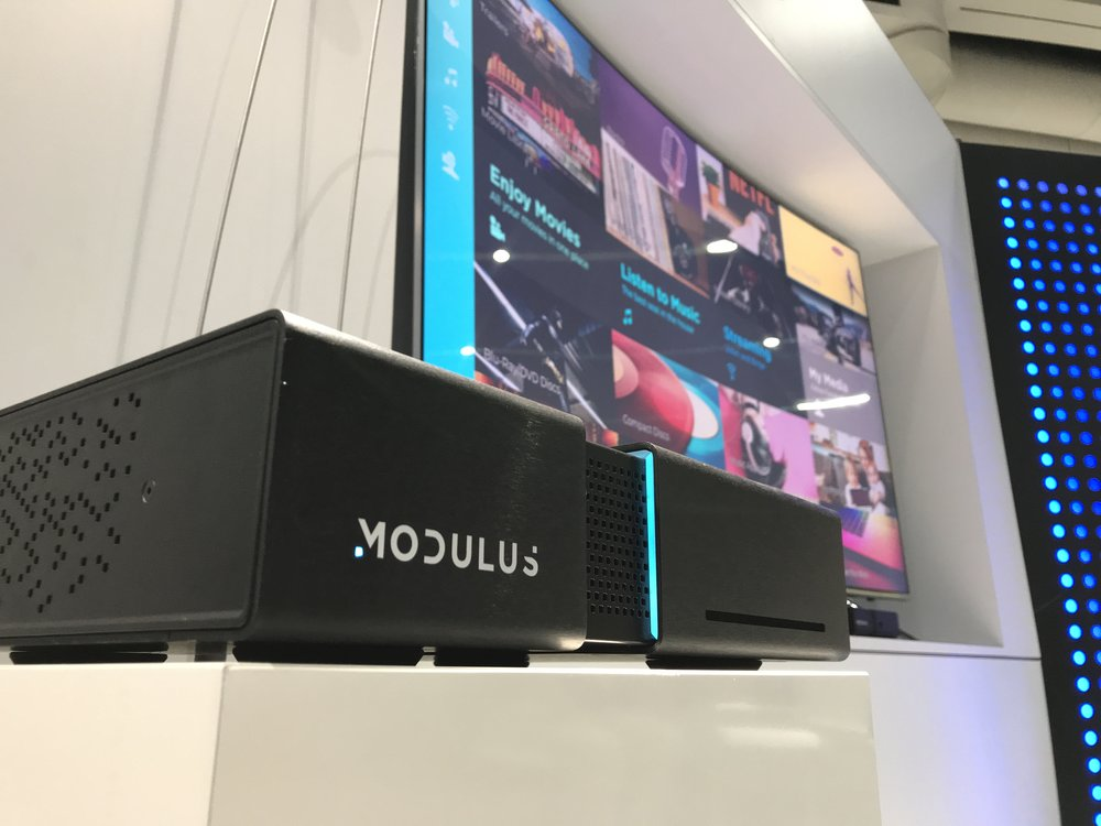 The Modulus M1 home media system
