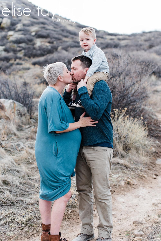 Mariana Butte Loveland Colorado Maternity Session
