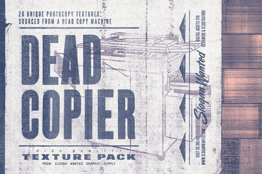 Dead Copier | Photocopy Texture Pack
