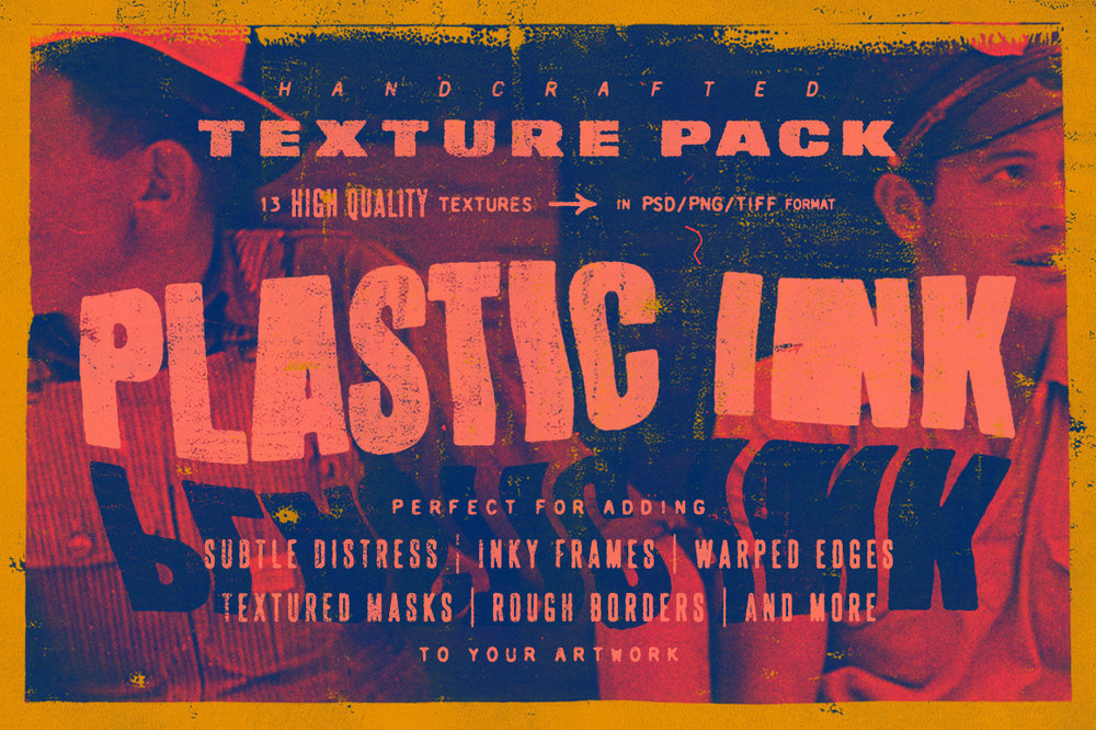 Plastic Ink | Texture Pack