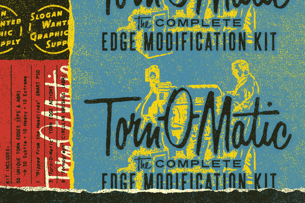 Torn-O-Matic | Edge Modification Kit