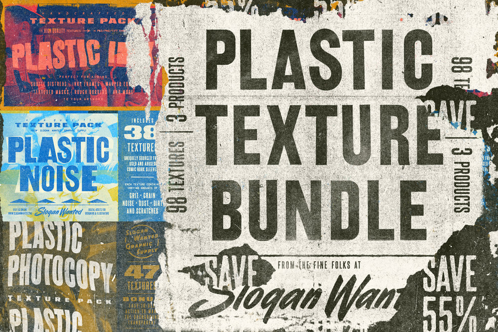 The Plastic Texture Bundle