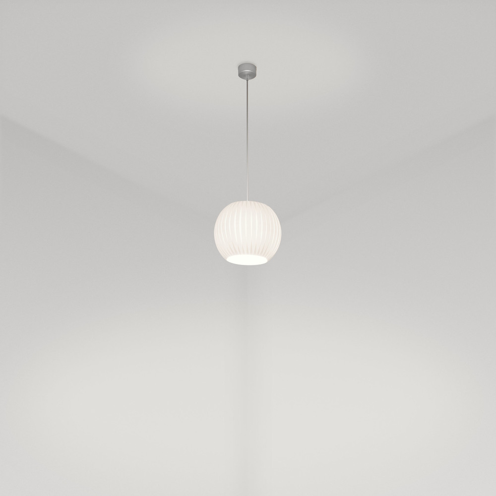 Orbit 300 Pendant in white