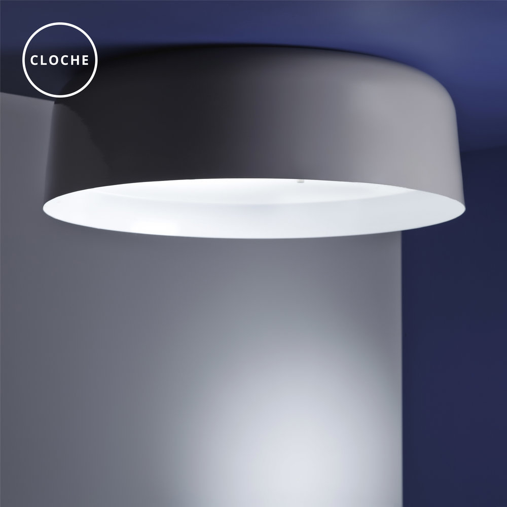 Cloche ceiling lamp