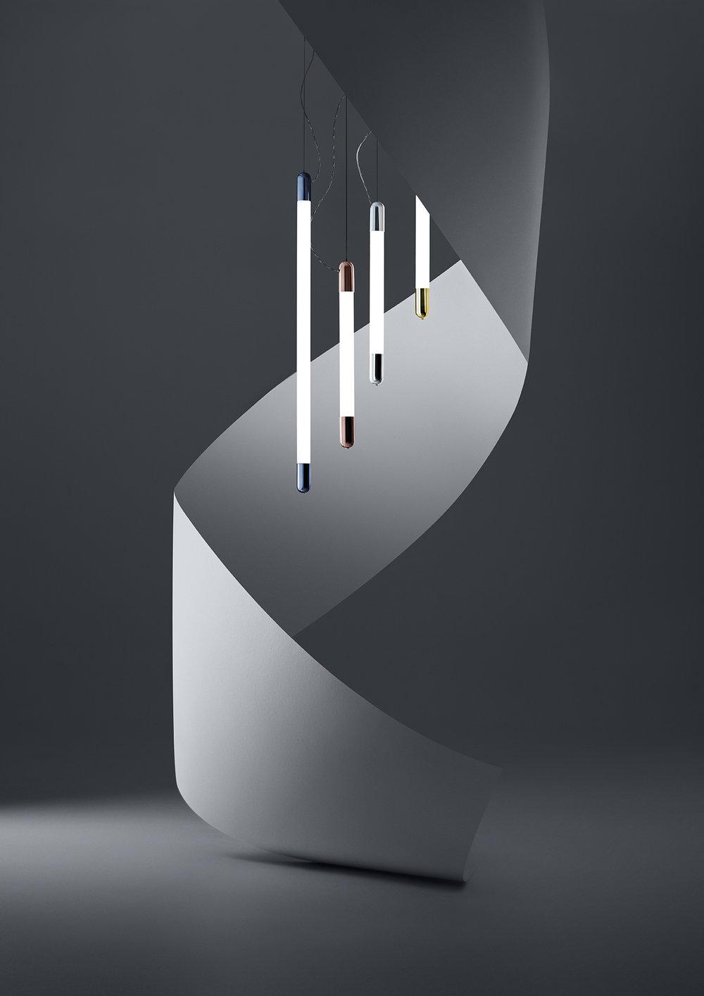 Snag Vertical Pendant in four colours