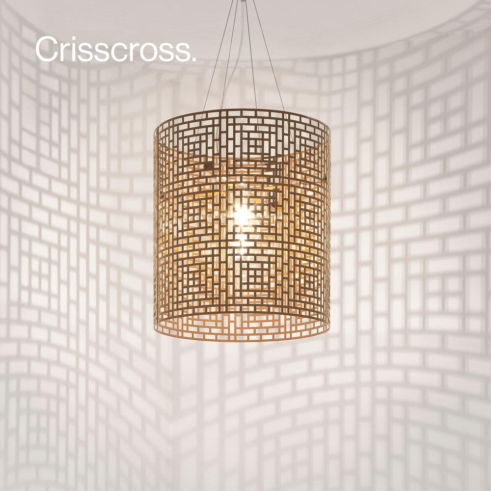Crisscross Pendant