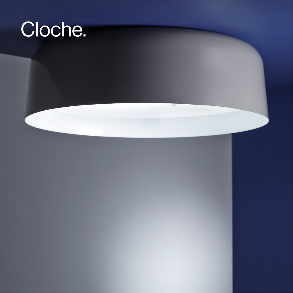 Cloche ceiling light