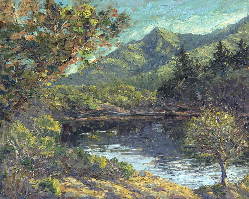 Mount Tamalpais from Bon Tempe