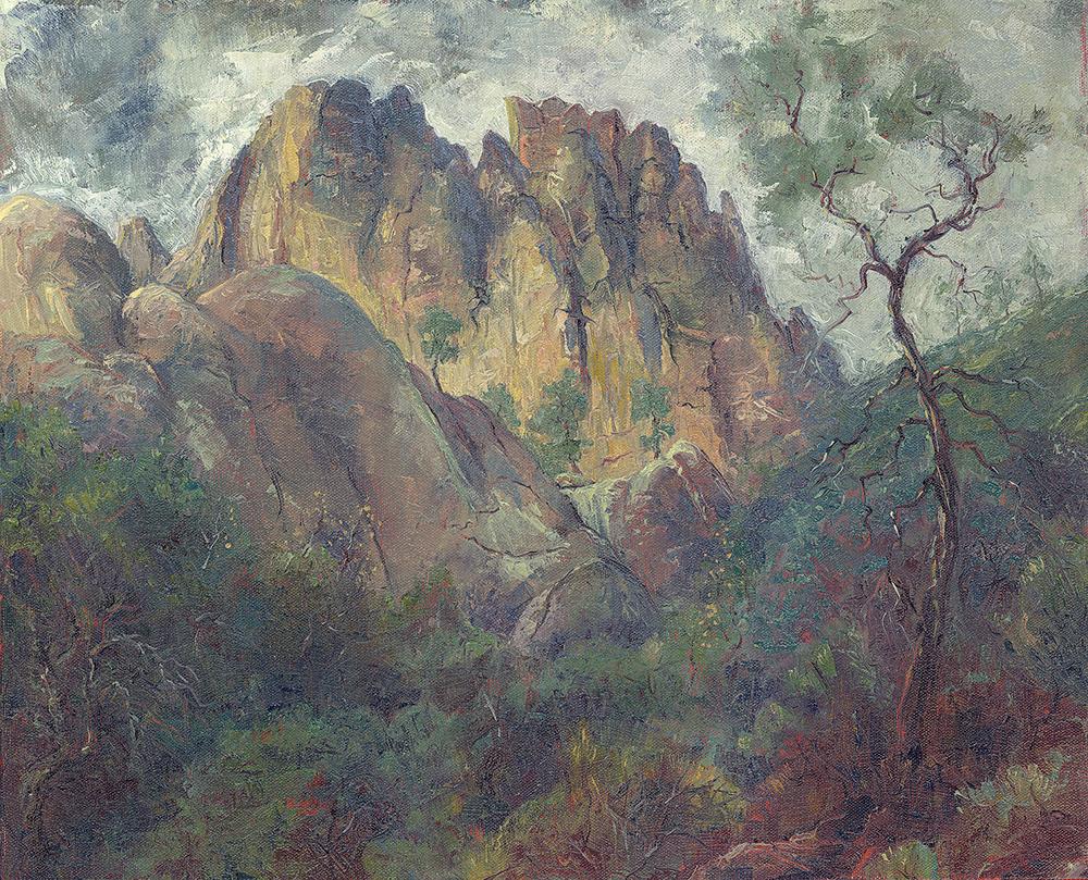 Condor Gulch from Hawkins Peak
