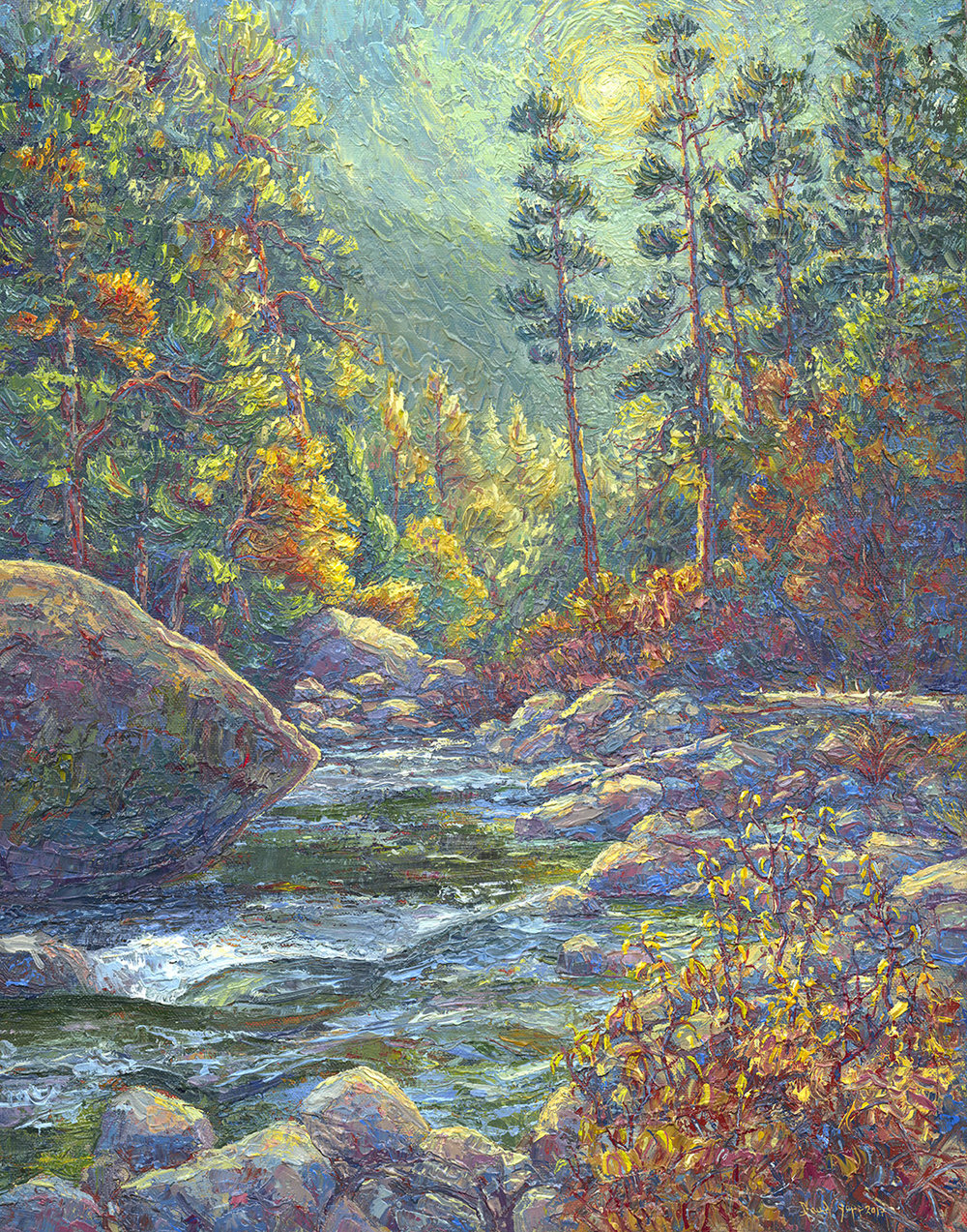 Fall–South Fork of the American River near Eagle Rock