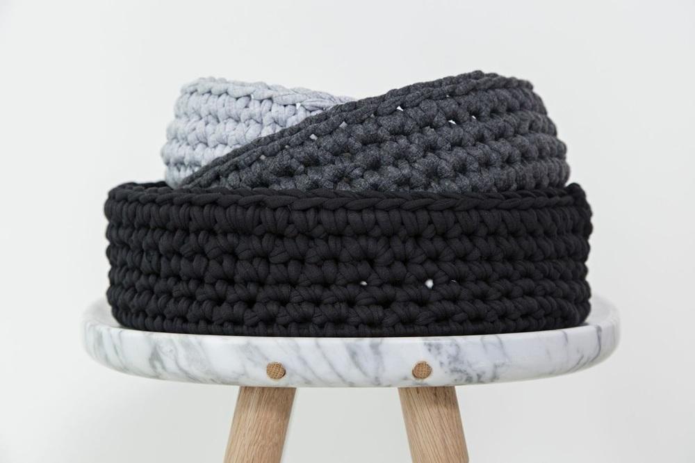 Hand Woven Bowl T-Yarn