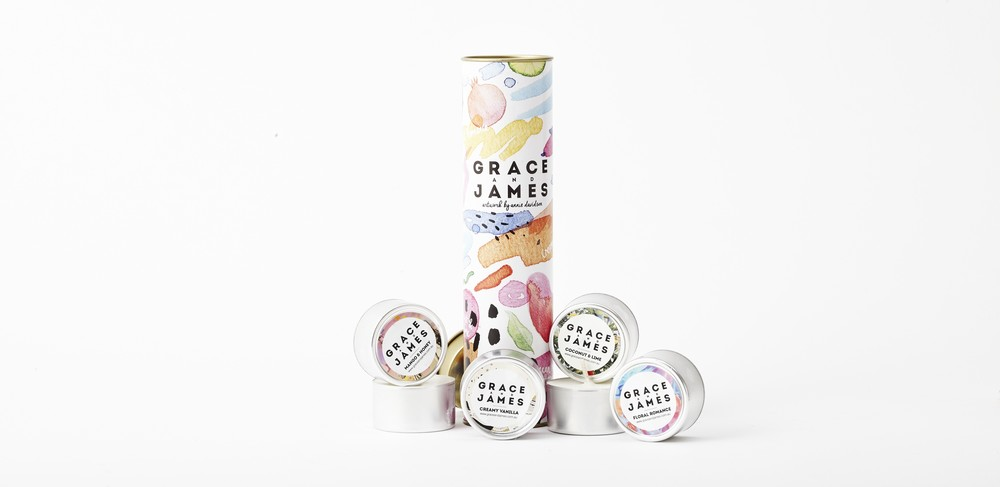 Grace and James Candle Co -  Tea Light Tube $29.95