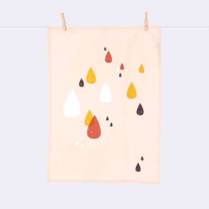 Norsu Interiors -  Ferm Living Drops Tea towel $25.00