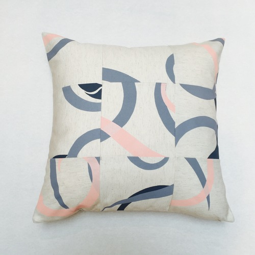 Bel & Blue -  Hand printed Cushion - $59.95