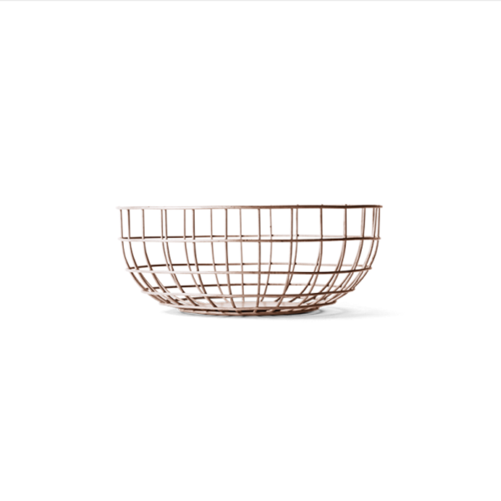Fresh Cut Interiors -  Wire Basket - $95