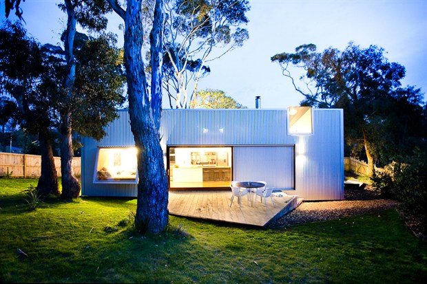 Dot pop for Australian beach house designs