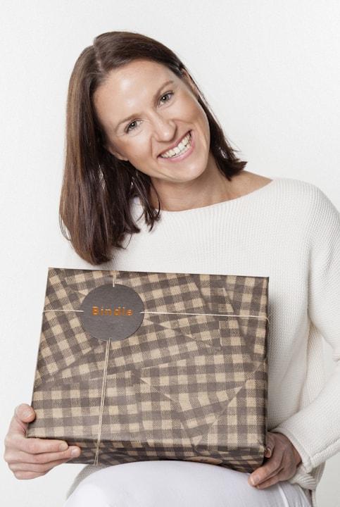 Bindle founder - Catherine Blackford