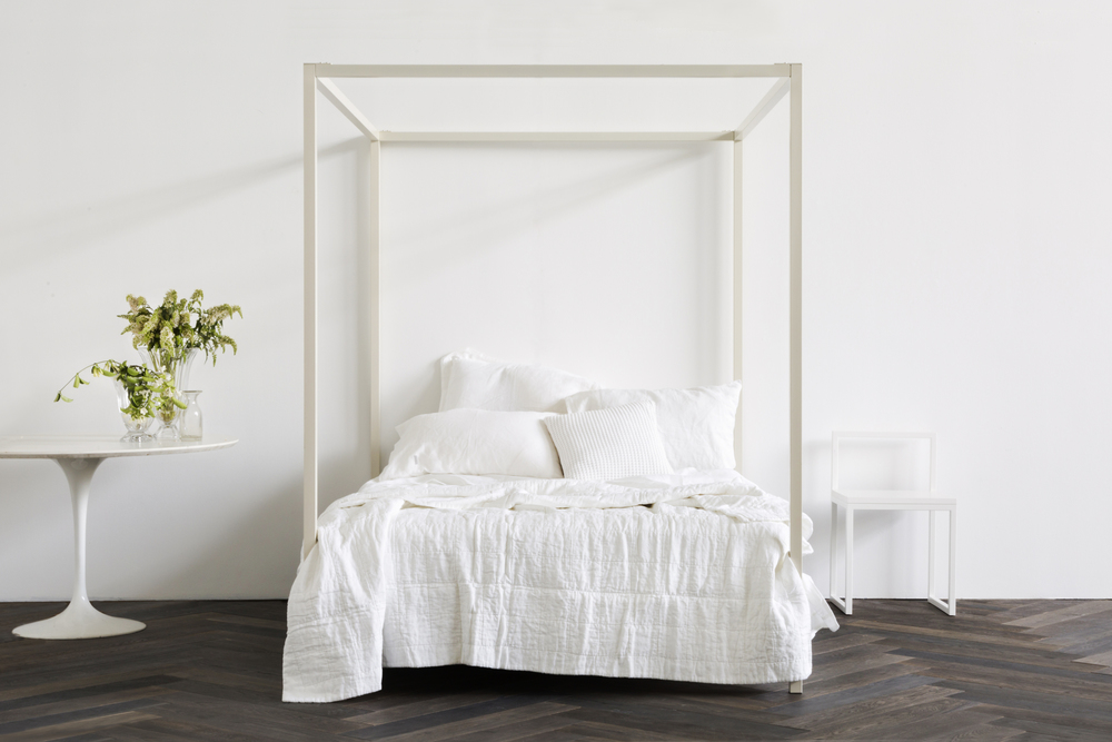 Incy interiors rose gold bed decor