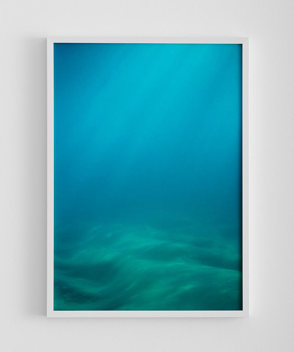 OCEAN FLOOR PRINT -RRP $195