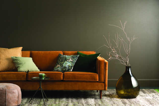 Haymes Interior Expressions low sheen acrylic in Keystone - part of the 'Strata' collection