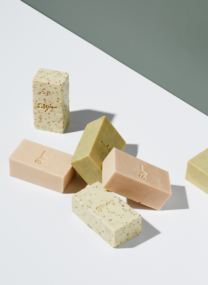 Botanical Bar - An exciting new area with the launch of SlySKIN and the introduction of the Botanical Bar. These luxury hand-made soaps are 100% natural and use some rare plant oils to cleanse, purify and exfoliate the skin across three unique blends.