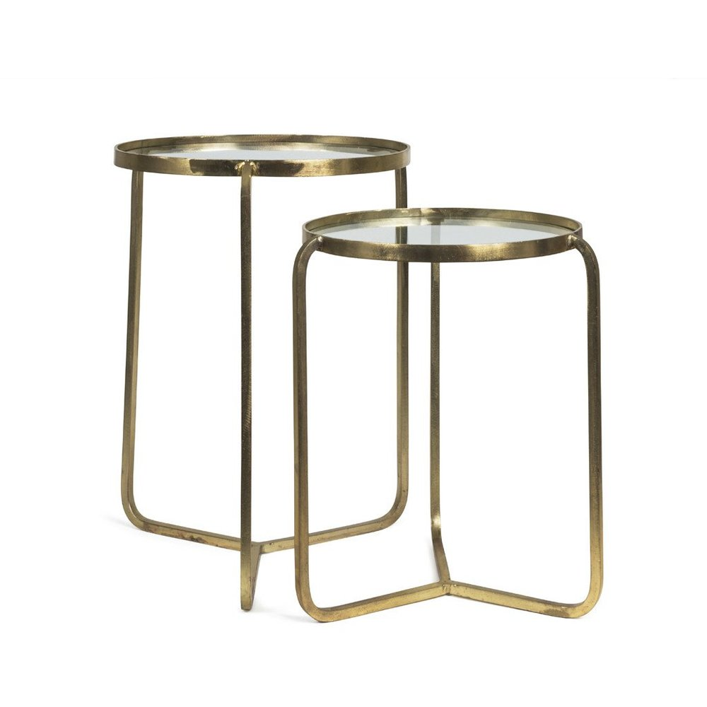 Nathan & Jac - Brass Nest Coffee tables - SHOP
