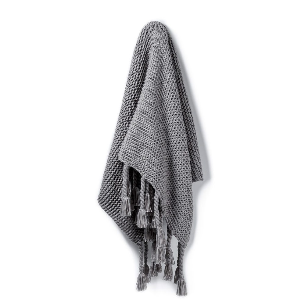 Mid Grey Throw -  Adairs $83.97