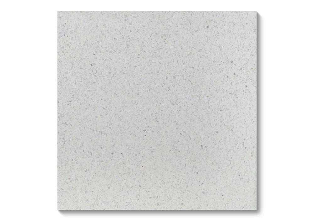 Fibonacci Stone Arctic Ice Terrazzo Tiles 03