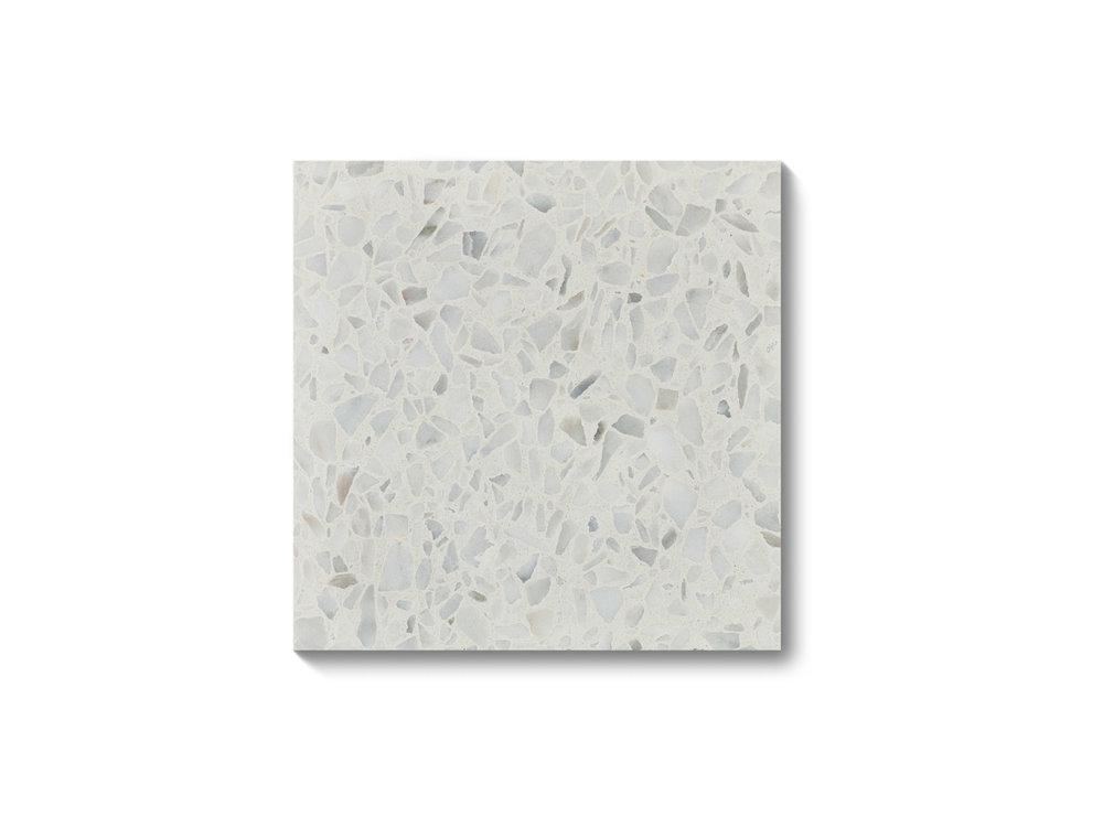 Fibonacci Stone Arctic Ice Terrazzo Tiles 02