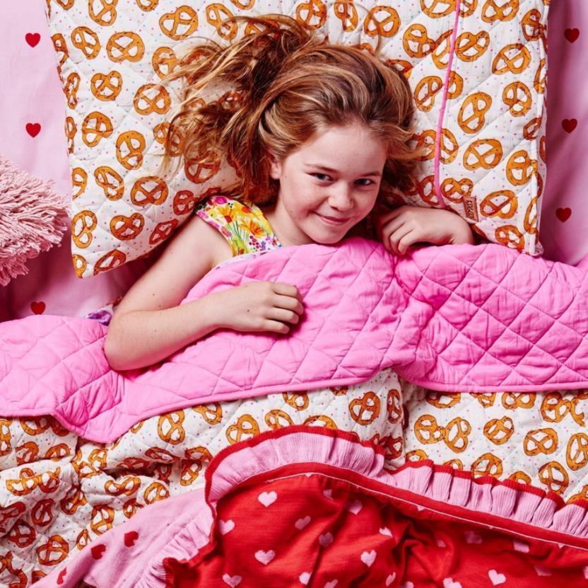 Kip & Co - Pretzels Quilted Bedspread