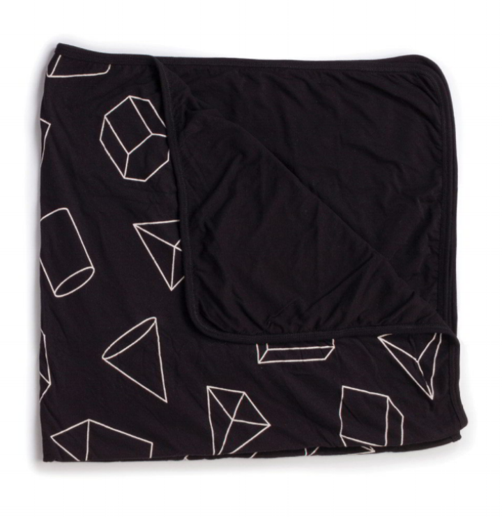 nununu world - geometric blanket