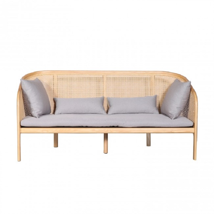 Cane Sofa -  ClickOn Funriture