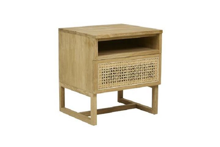 Willow Woven Bedside -  Globe West