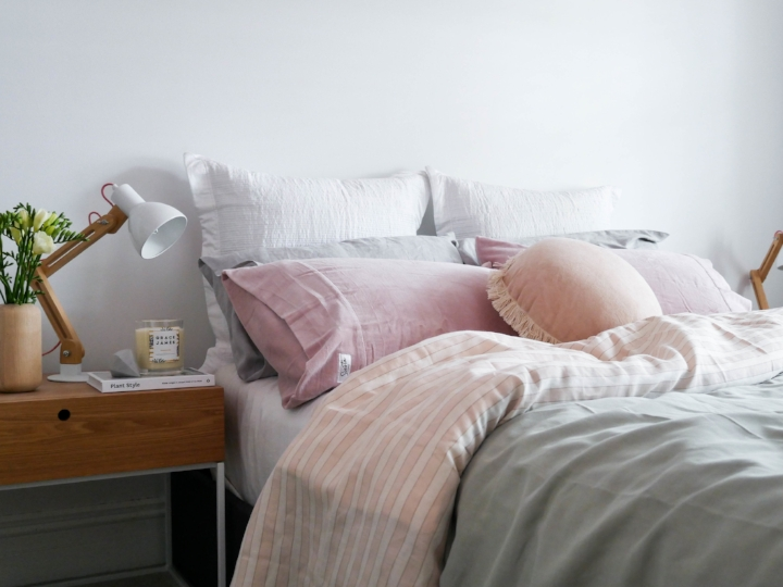 Boutique bedding with personality by Siesta Home…