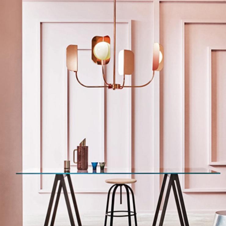 Lights Lights Lights |Leaf Chandelier